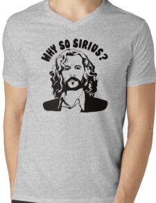 why so sirius Mens V-Neck T-Shirt