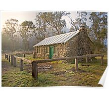 Old Geehi Hut, High Country Poster