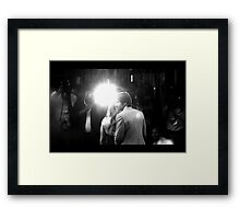 X-Files Premiere Framed Print