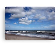 Peaceful Afternoon at the Beach Canvas Print