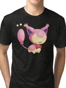 Skitty Tri-blend T-Shirt