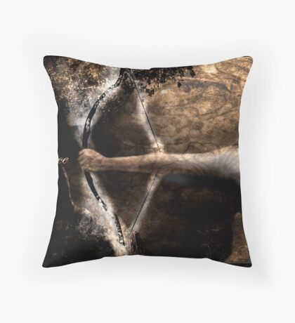 Prayer Warrior Throw Pillow