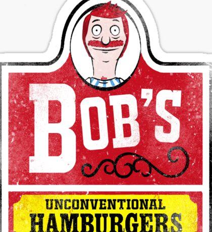 Unconventional Burgers Sticker