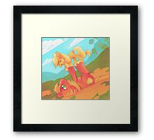 Pony Love Framed Print