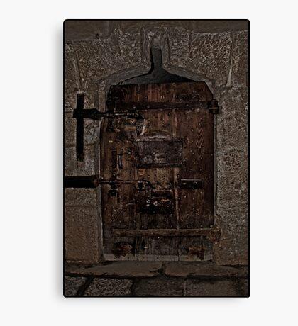 Dungeon Door Canvas Print