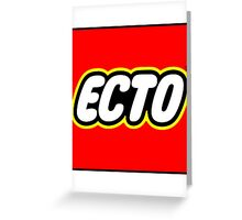 LEGO x ECTO Greeting Card