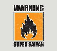 DBZ - Super Saiyan Warning Unisex T-Shirt