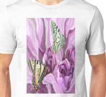 Butterflies and Roses Unisex T-Shirt