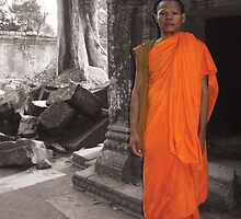 Tah Prom Monk, Cambodia by Remine