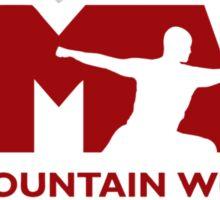 Song Mountain Wushu - Large Logo Sticker
