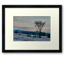 Berkshire Landscape Scene Framed Print