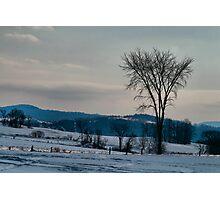 Berkshire Landscape Scene Photographic Print