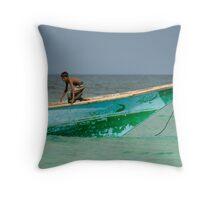 Socotra Fishing - Yemen Throw Pillow