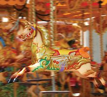 Covent Garden Merry-Go-Round, London by Remine
