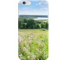 wild green Longford farmland iPhone Case/Skin