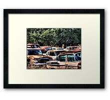 The Classics ( BoneYard Series ) Framed Print