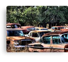 The Classics ( BoneYard Series ) Canvas Print