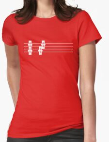 Pickup the bass Womens Fitted T-Shirt