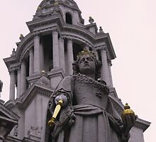Queen Victoria, London by Remine