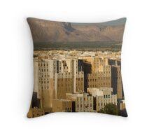 Shibam - Yemen Throw Pillow