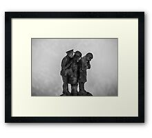 3 Soldiers Framed Print