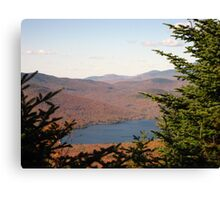 Looking at Stinson Lake from the Summit of Stinson Mountain Canvas Print