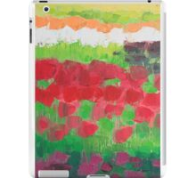 Tulip Fields iPad Case/Skin