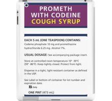 Promethazine Label iPad Case/Skin