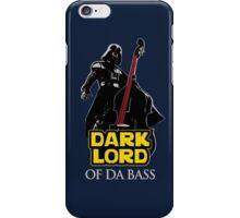 Dark Lord of Da Bass (Star Wars) iPhone Case/Skin