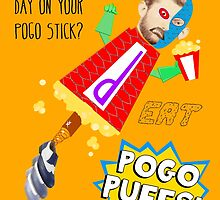 EAT POGO PUFFS! by Uncle McPaint