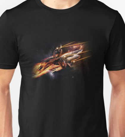 Sharktopus, in Space with Lasers! Unisex T-Shirt