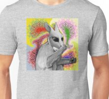 The rabbit's just a monkey in disguise  Unisex T-Shirt