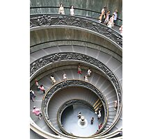 Exiting the Vatican, Rome Photographic Print