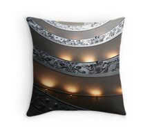 Exiting the Vatican, Rome II Throw Pillow