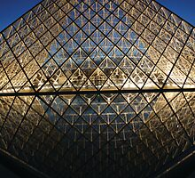 The Louvre, Paris II by Remine