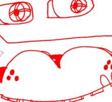 Anatomia Ursum Sticker