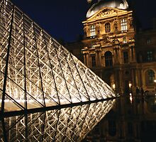 The Louvre, Paris III by Remine