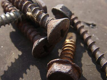 Rusty Screws by tastypaper