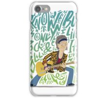 Guitar Heroes - Keith Ricahrds iPhone Case/Skin