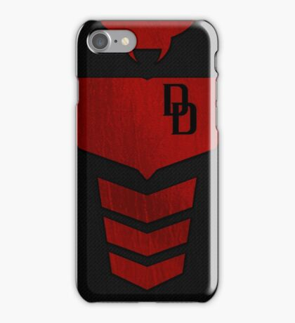 Armored Daredevil Suit Case iPhone Case/Skin