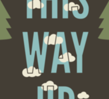 This Way Up Sticker
