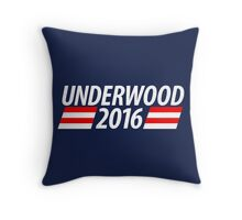Underwood 2016 shirt campaign poster mug Throw Pillow