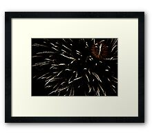 A Full Sky....  Framed Print