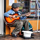 Young musician by andreisky