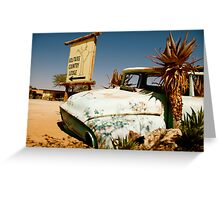 outback wandering Greeting Card
