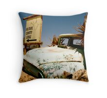 outback wandering Throw Pillow