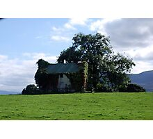 Ireland Home on a hill  Photographic Print