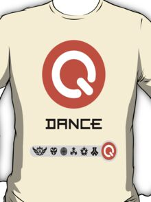 Q-Dance Festivals -Black Font- T-Shirt