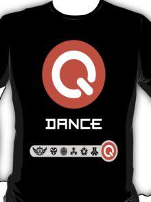 Q-Dance Festivals -White Font- T-Shirt