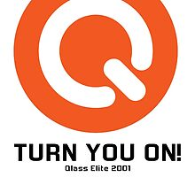 Turn You ON! - Q-Dance '01 New Logo Campaign -Black Font- by juen3000